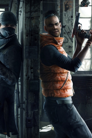 2014 Watch Dogs Game para Huawei G7300
