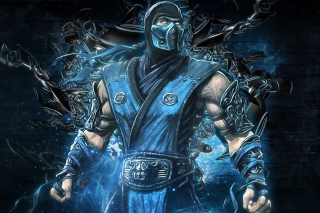 Mortal kombat, Sub zero Background for Android, iPhone and iPad