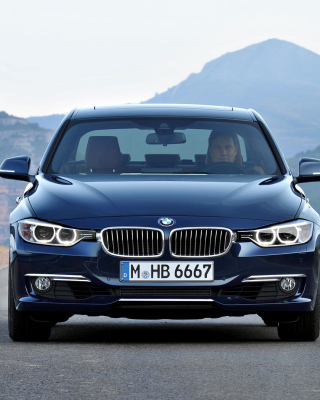 BMW 328i F30 Wallpaper for 640x1136