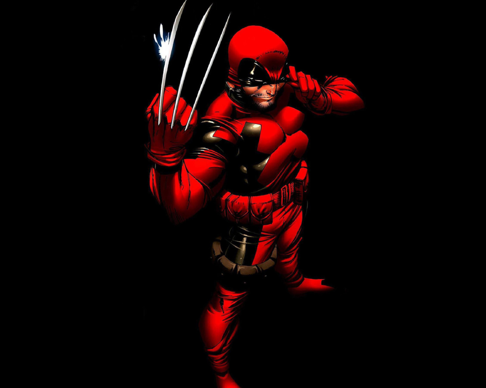 Screenshot №1 pro téma Wolverine in Red Costume 1600x1280