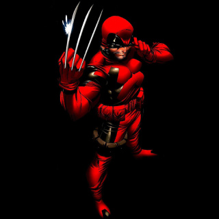 Screenshot №1 pro téma Wolverine in Red Costume 320x320
