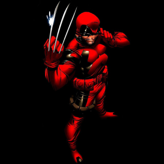 Wolverine in Red Costume - Fondos de pantalla gratis para iPad Air