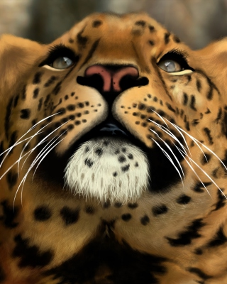 Free Leopard Art Picture Picture for Nokia C-Series