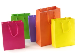 Shopping Bags Background for Android, iPhone and iPad