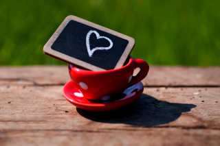 Cup Heart sfondi gratuiti per cellulari Android, iPhone, iPad e desktop