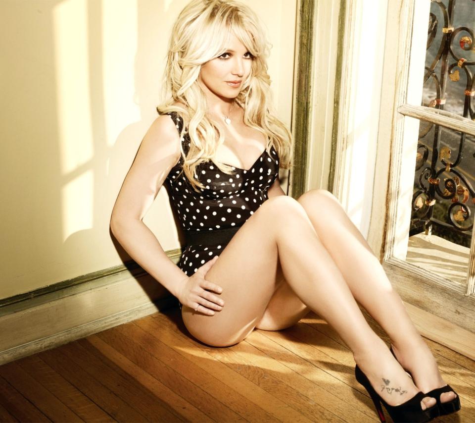 Britney Spears para Sony Ericsson XPERIA PLAY