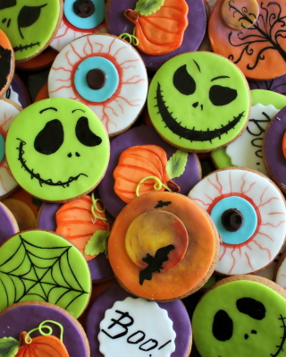 Free Scary Cookies Picture for Nokia Asha 310