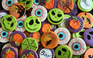 Scary Cookies Wallpaper for Android, iPhone and iPad