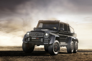 Brabus G 63 AMG 6x6 sfondi gratuiti per cellulari Android, iPhone, iPad e desktop
