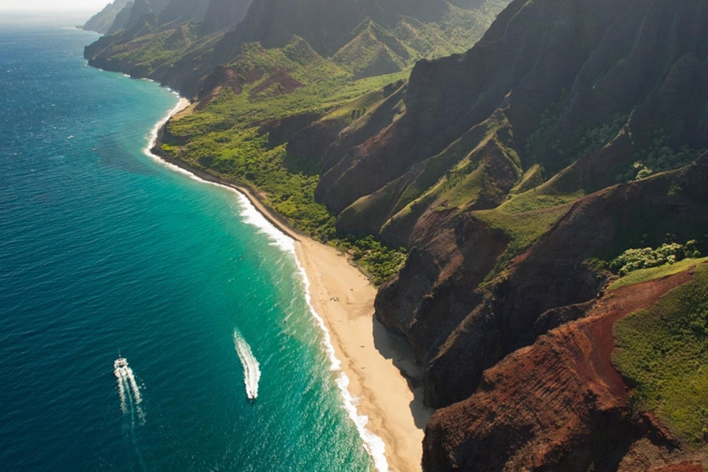 Kealia Shoreline, Kauai, Hawaii бесплатно