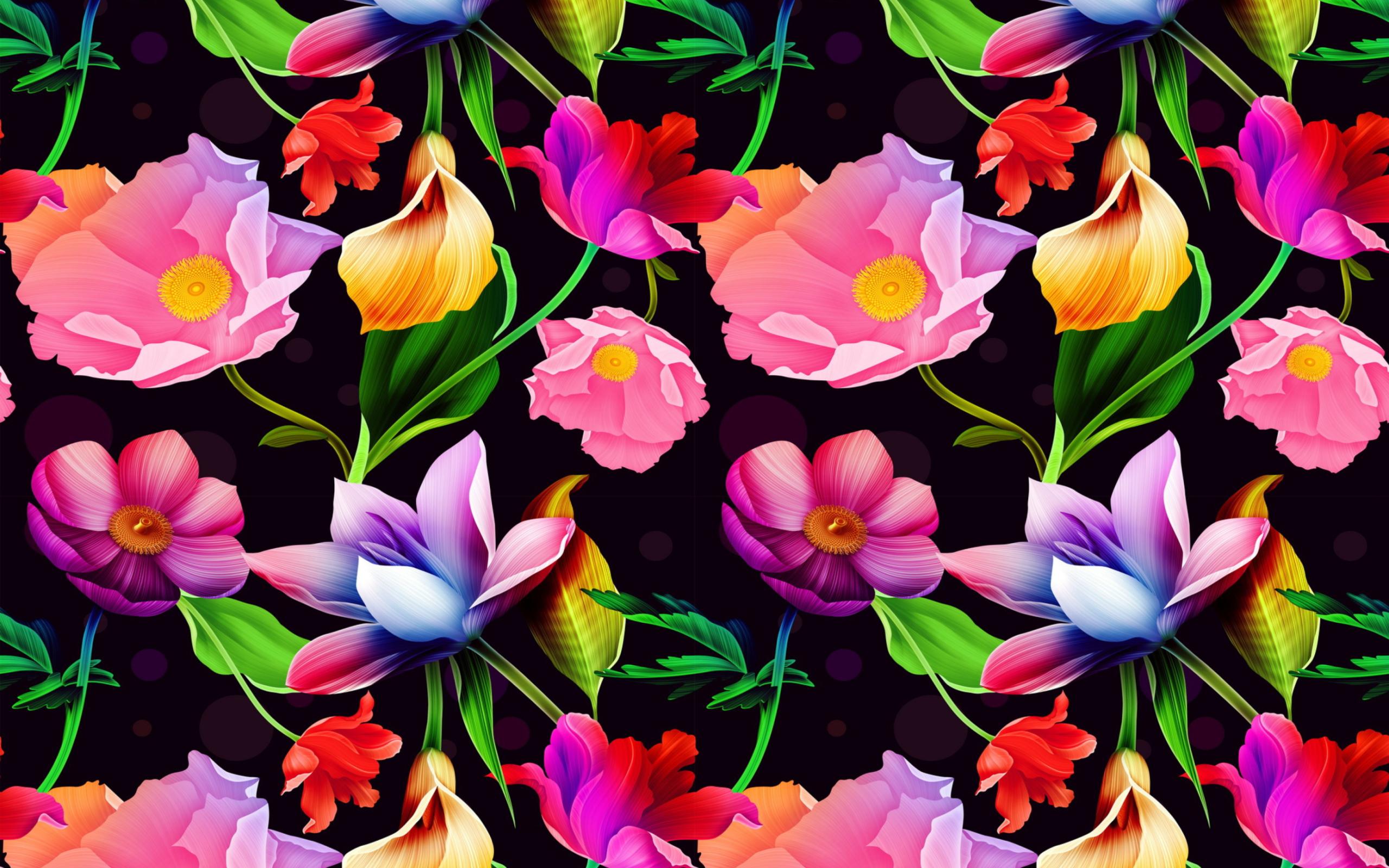 Для группы, цветные картинки с цветами