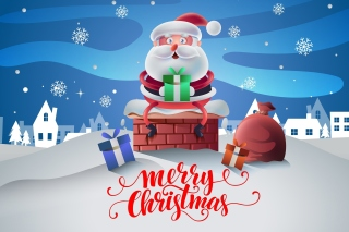 Santas Christmas Song Wallpaper for Android, iPhone and iPad