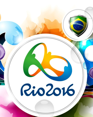 Olympic Games Rio 2016 Background for Nokia Asha 306