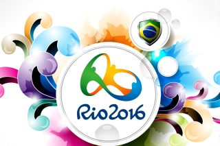 Olympic Games Rio 2016 Background for Android, iPhone and iPad
