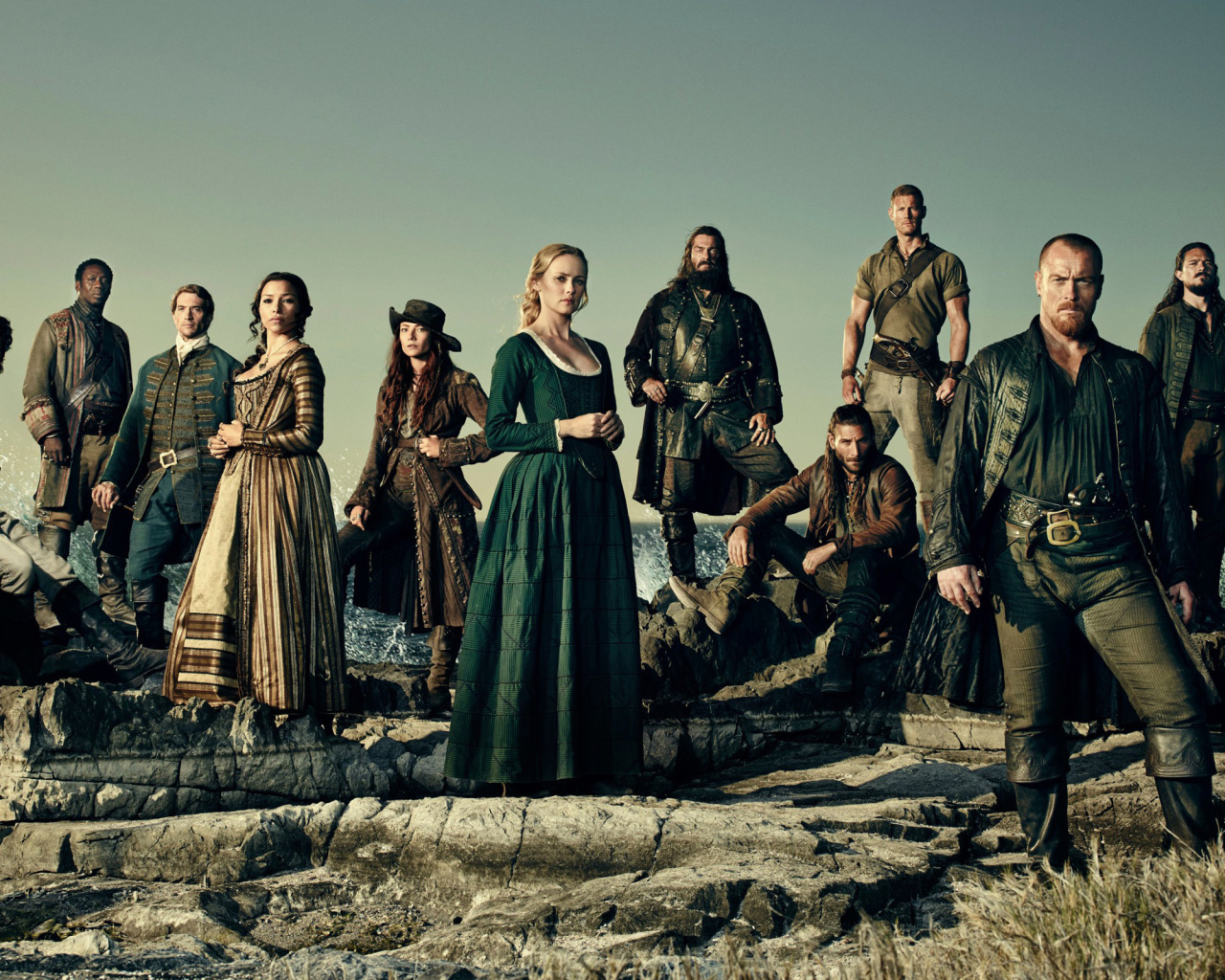 Das Black Sails TV Series 4 Season Wallpaper 1280x1024