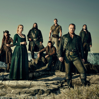 Black Sails TV Series 4 Season sfondi gratuiti per iPad mini