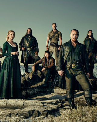 Black Sails TV Series 4 Season Background for Nokia Asha 306