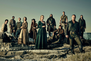 Black Sails TV Series 4 Season sfondi gratuiti per Samsung S5570i Galaxy Pop Plus