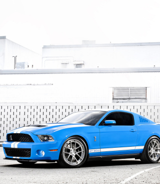 Kostenloses Ford Mustang Shelby Cobra Gt 500 Wallpaper für 640x960