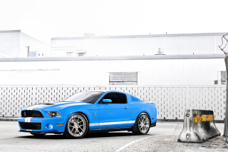 Обои Ford Mustang Shelby Cobra Gt 500 для Motorola DROID 3