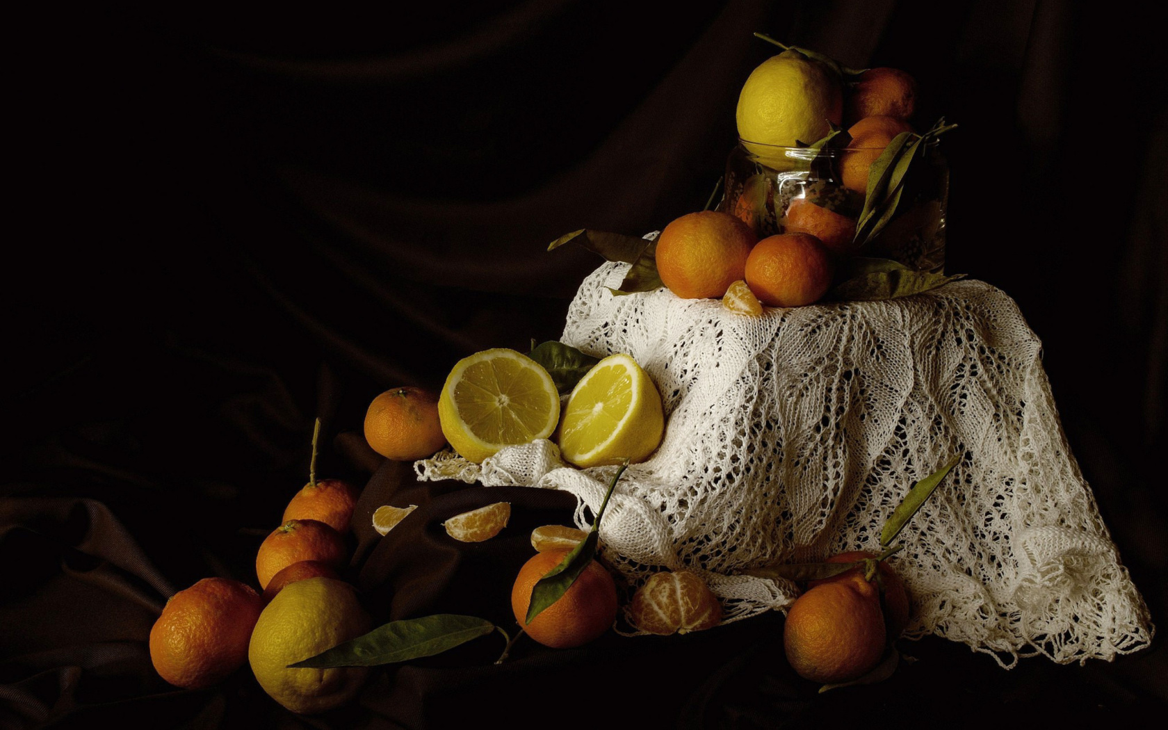 Fondo de pantalla Still Life with Fruit 1680x1050