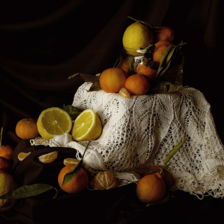 Still Life with Fruit sfondi gratuiti per iPad 3