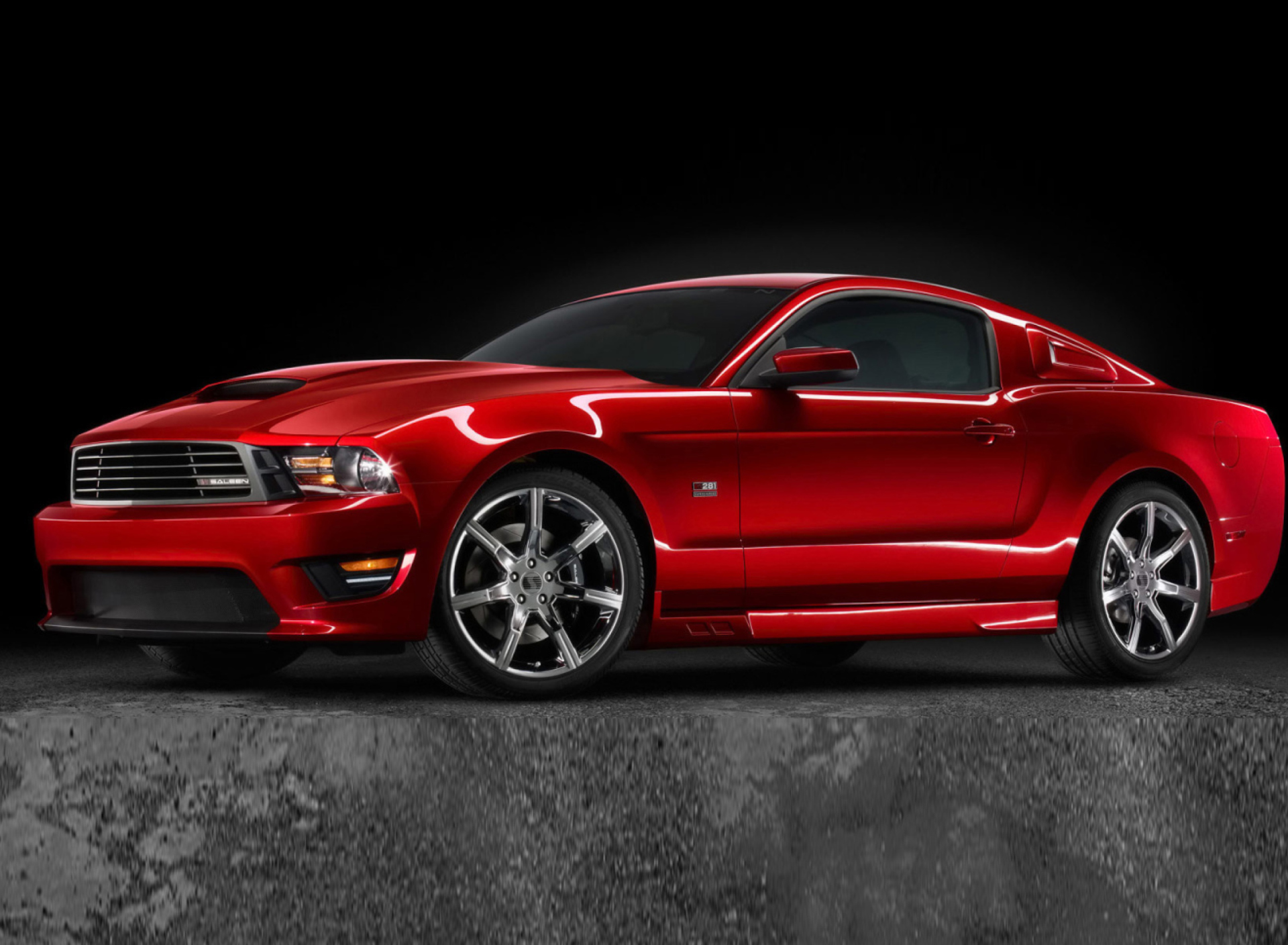 Screenshot №1 pro téma Saleen S281 Supercharged Mustang 1920x1408