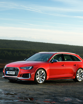 Audi RS4 Avant 2018 Picture for Nokia C2-00