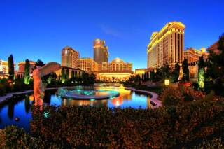 Caesars Palace Las Vegas Hotel Wallpaper for Android 480x800