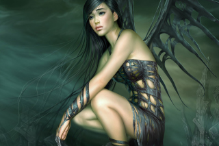 Free Fantasy Girl Art Picture for 1400x1050