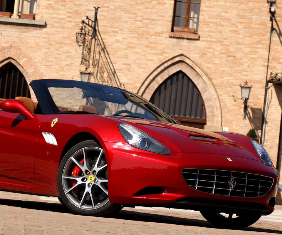 Das Ferrari California T Super Car Wallpaper 960x800