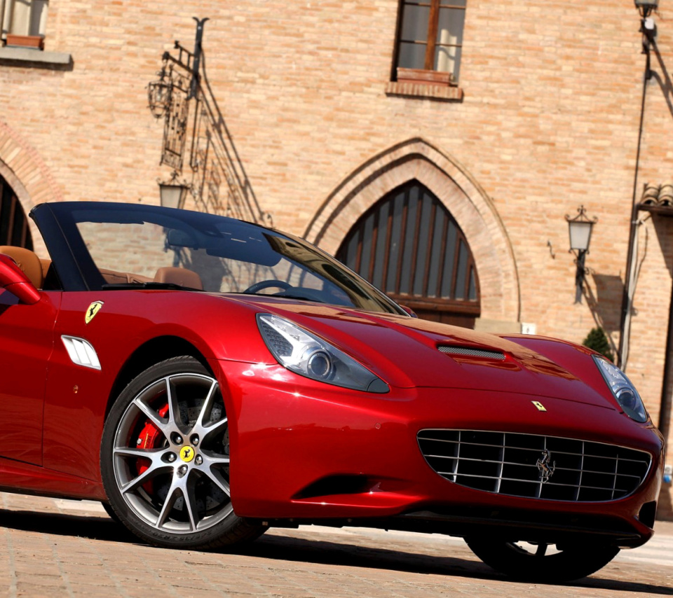 Screenshot №1 pro téma Ferrari California T Super Car 960x854