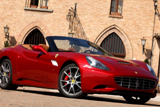 Ferrari California T Super Car Background for Android, iPhone and iPad