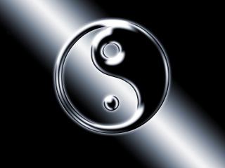 Yin Yang Symbol para Nokia Asha 201