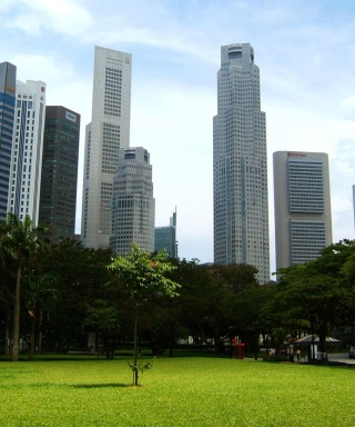 Singapore Park sfondi gratuiti per iPhone 6