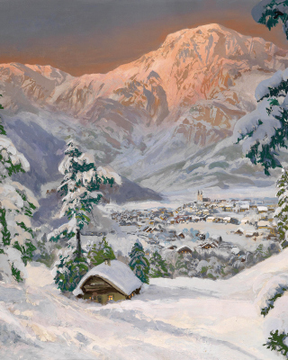 Alois Arnegger, Alpine scenes Picture for 640x1136