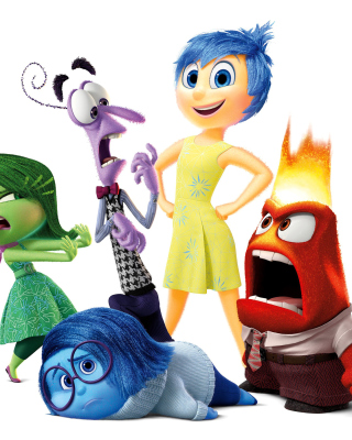 Inside Out, Pixar Background for Nokia Asha 310
