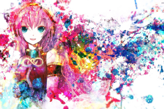 Megurine Luka Vocaloid Picture for Android, iPhone and iPad