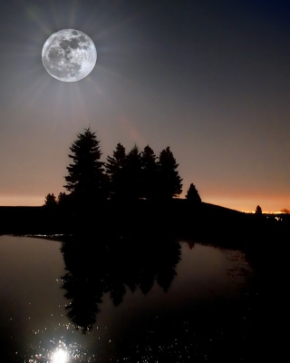 Moonlight Wallpaper for iPhone 6 Plus