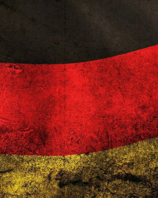 Germany Flag Wallpaper for Nokia Asha 305