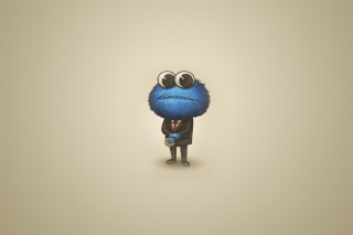 Sesame Street Cookie Monster Background for Android, iPhone and iPad
