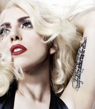 Free Lady Gaga Picture for Nokia Asha 306