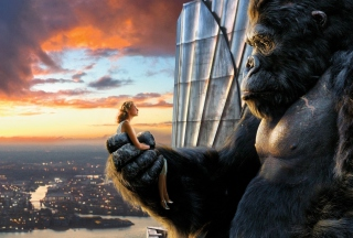 King Kong Film Background for HTC Desire HD