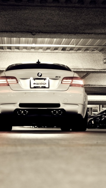 Bmw M3 Rear Low Angle Shot