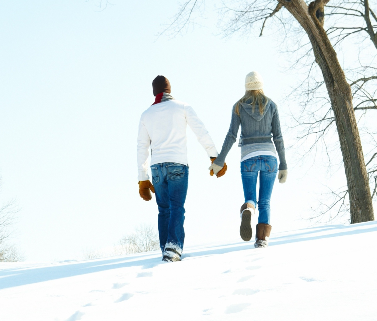Romantic Walk Through The Snow screenshot #1 1200x1024