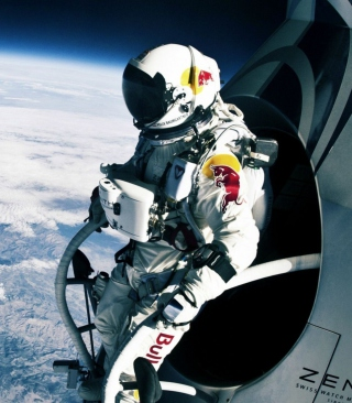 Felix Baumgartner Cosmic Jump Wallpaper for HTC Titan