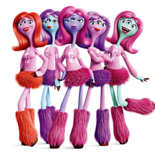 Monsters University Cheerleaders, Python Nu Kappa students - Obrázkek zdarma pro 2048x2048