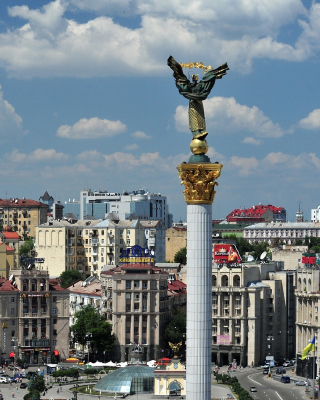 Ukraine, Kiev Background for Nokia C7