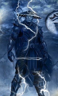 Raiden Mortal Kombat screenshot #1 240x400
