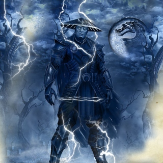 Raiden Mortal Kombat Picture for 128x128
